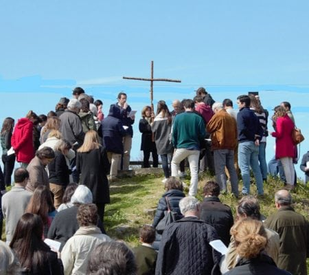 Via Sacra No Monte Sem Os Fios