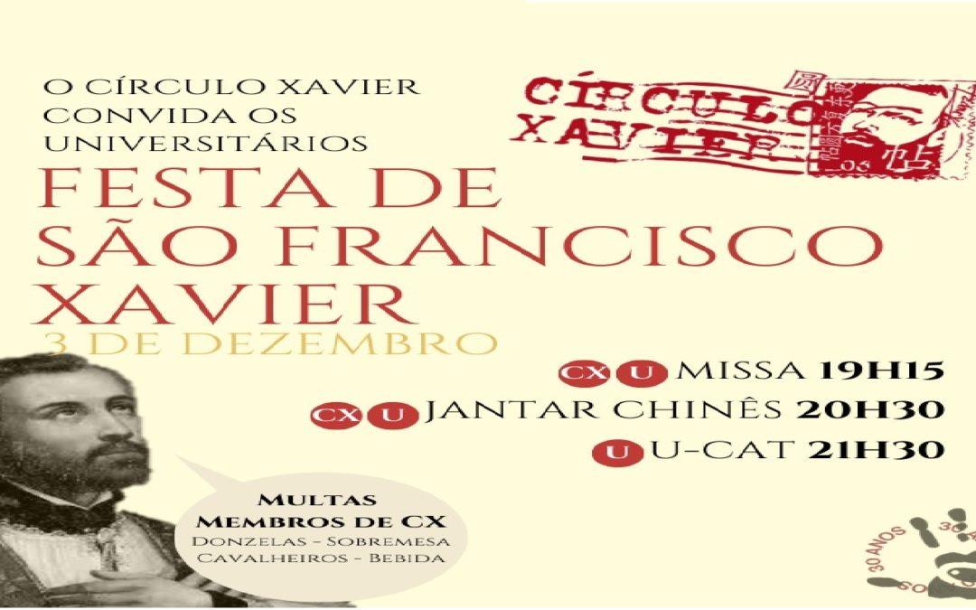 Festa de S. Francisco Xavier