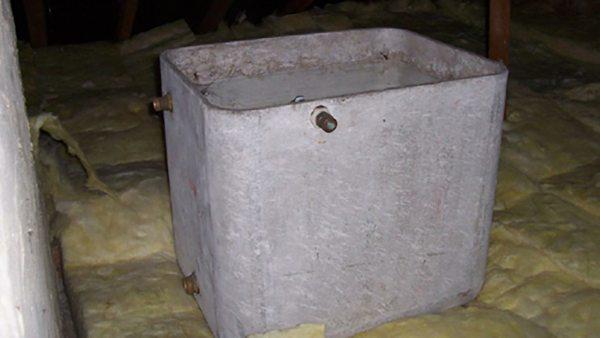 Cisterna amianto