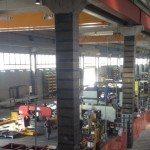 Miglioramento del comportamento sismico della struttura in c.a. del capannone prefabbricato Ravani Acciai