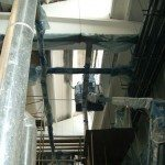 Tinteggiatura interni capannoni industriali