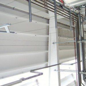 Tinteggiatura interni edifici industriali