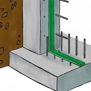 Impermeabilizzazione bentonitica per fondazioni, platee e strutture interrate