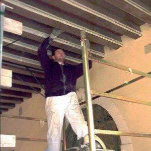 Lavori di restauro strutturale con materiali compositi FRP