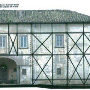 Grafico restauro strutturale con materiali compositi FRP