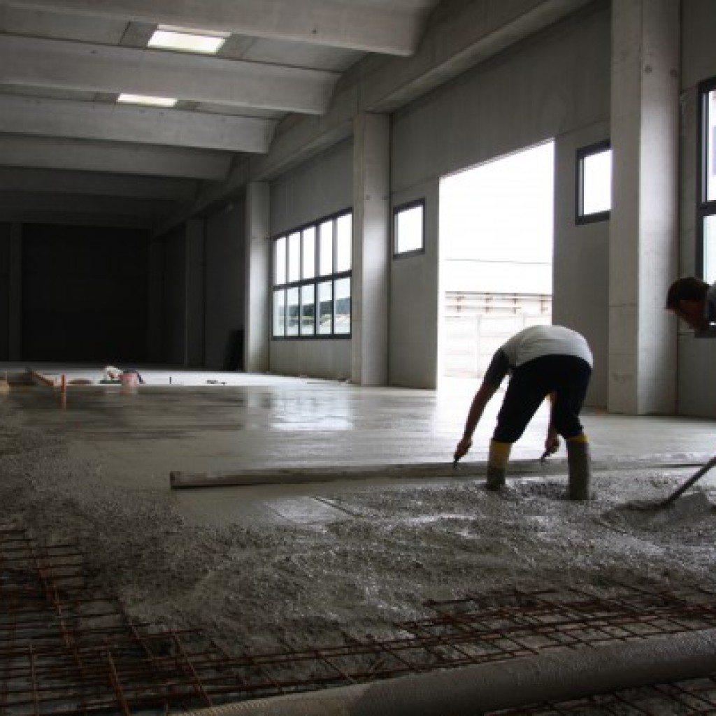 Realizzazione Pavimenti Industriali In Calcestruzzo
