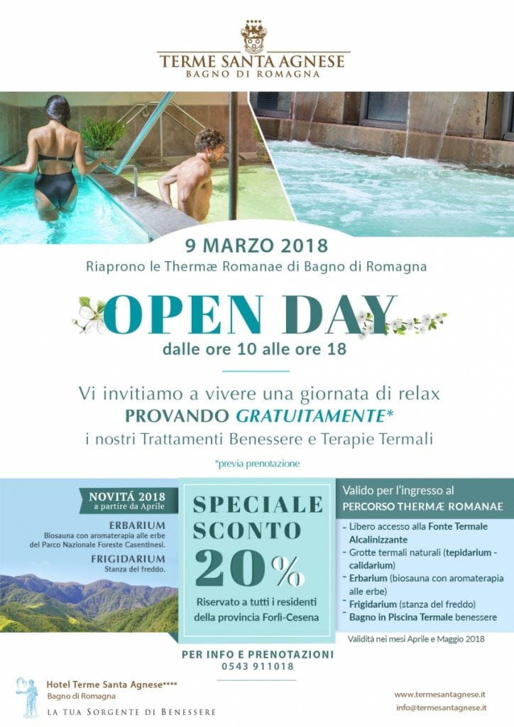 Open day 9 Marzo 2018