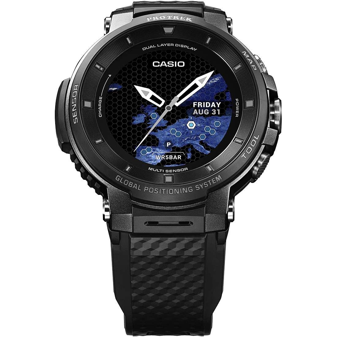nuovo stile 67e89 3818a Orologio Smartwatch Uomo Casio PRO-TREK WSD-F30-BKAAE