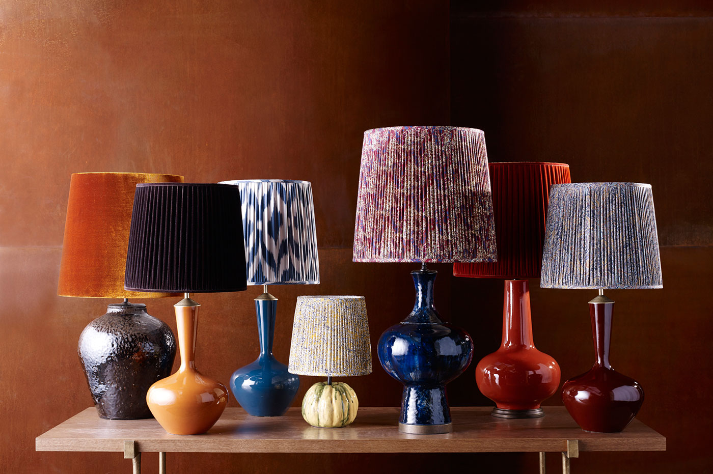 Lampshades porta romana ingredient of our gold standard lampshade is fit for purpose with a vast spectrum of colours available there will always be something that excites aloadofball Images