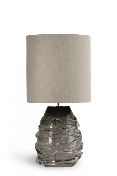 Cabochon Lamp | Charcoal