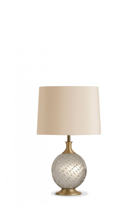 Refraction Lamp | Clear with Gold collar