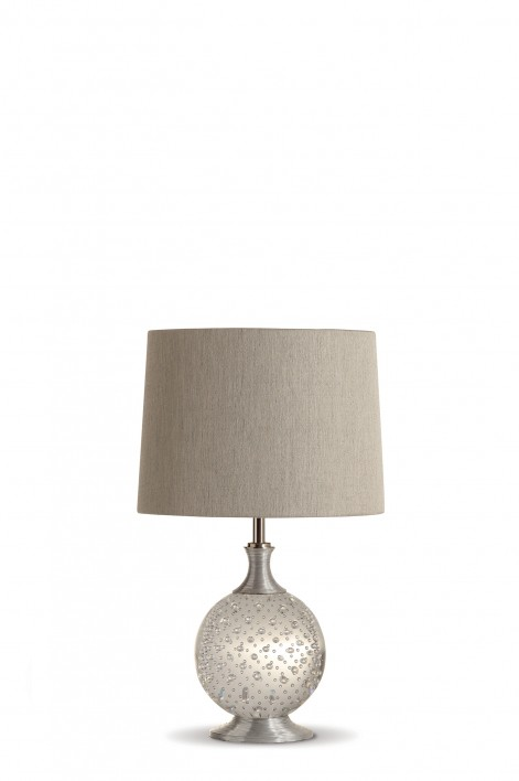 Refraction Lamp | Clear with Silver collar