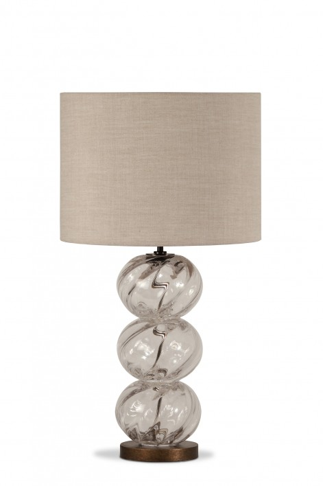 Small Chenille Lamp | Clear