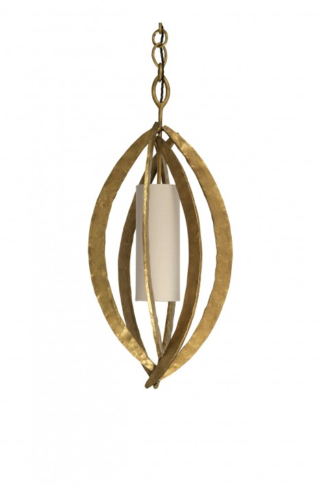 Miro Chandelier | French Brass
