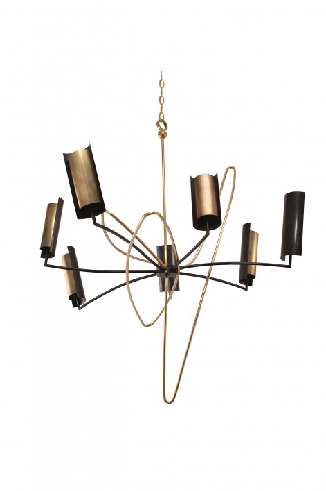 Sputnik Ceiling Light | Antiqued Brass, Bronze and Polished Brass