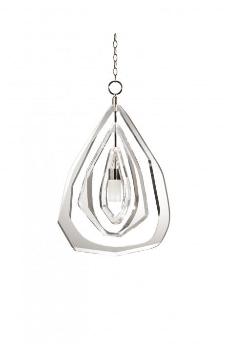 Small Gabo Ceiling Light | Clear