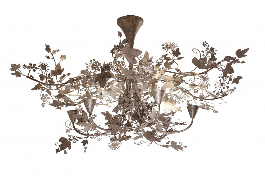 Large ivy shadow chandelier mcl37l ceiling lights ceiling light resources aloadofball Choice Image