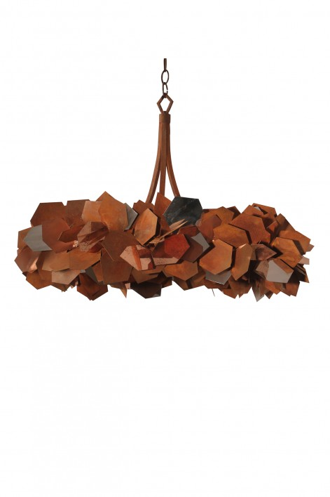 Phoenix Crown Ceiling Light | Tri-Colour