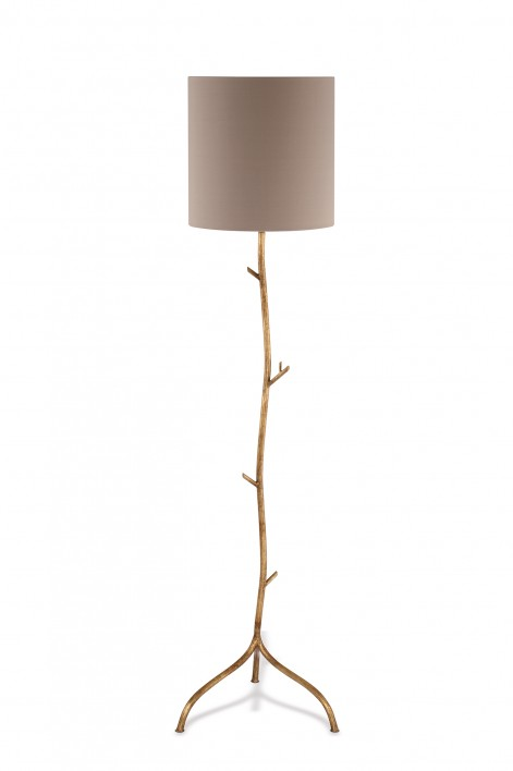 Twig Floor Lamp | Burnished Gold