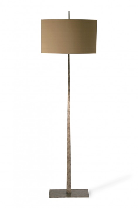 Tapering Harral Floor Lamp | Burnt Silver