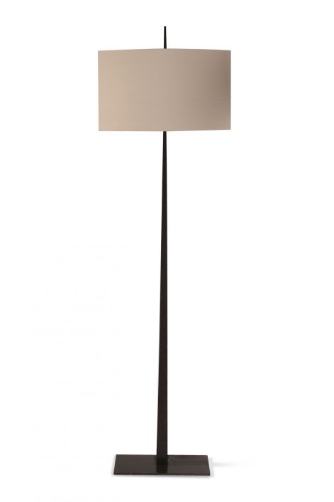 Tapering Harral Floor Lamp | Bronzed