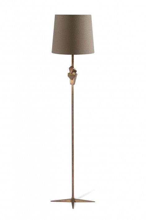Oblique floor lamp