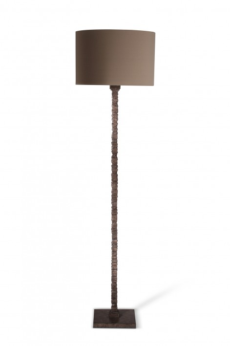Static Floor Lamp | Burnt Silver