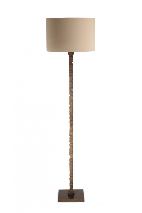 Static Floor Lamp | French Brass