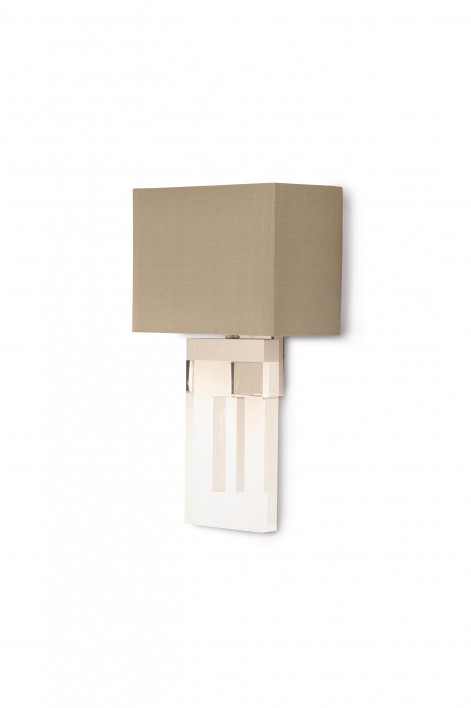 Wall Sconces Porta Romana Luxury Lighting And Furniture Made - Square bathroom sconce