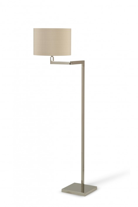 Reading Floor Lamp | Nickel