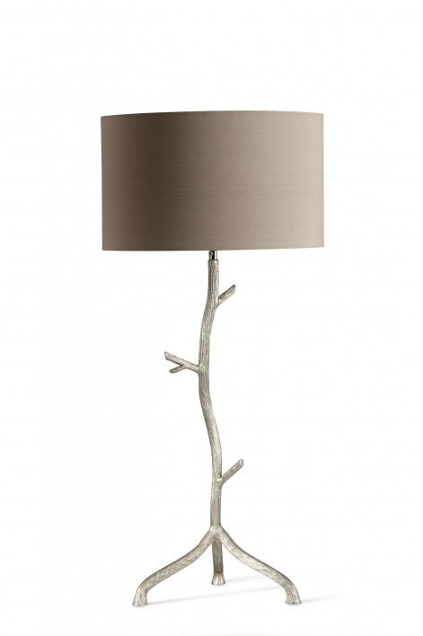 Twig Lamp | Burnished Silver