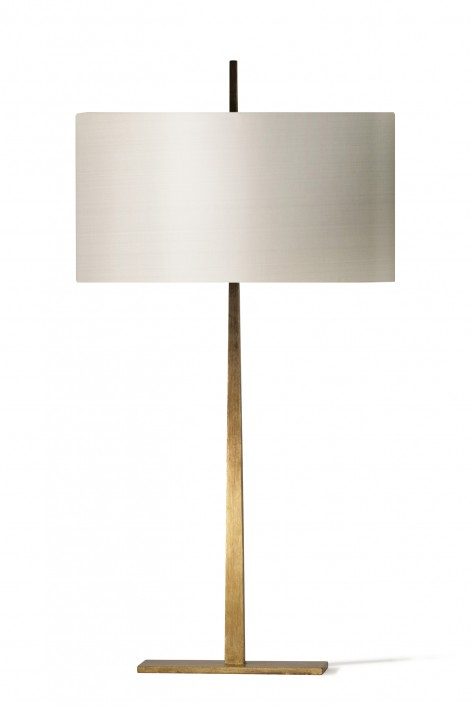 Small Tapering Harral Lamp | French Brass