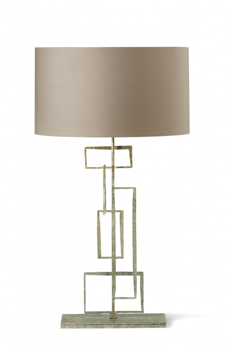 Large Salperton Lamp | Decayed Silver