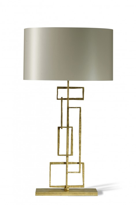 Large Salperton Lamp | White Gold