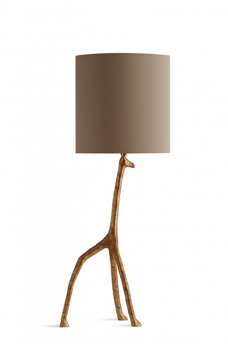 Giraffe Lamp | Decayed Gold