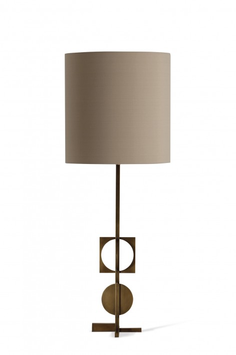 Cirque Lamp | Antiqued Brass