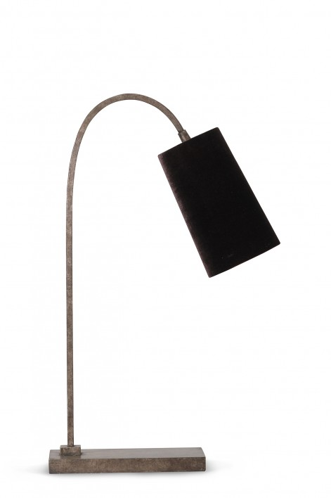 Willow Lamp | Burnt Silver