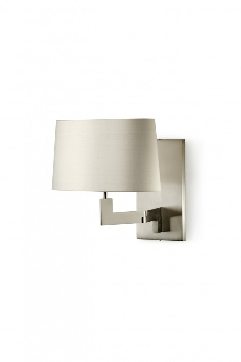 Library Wall Light | Brushed Nickel