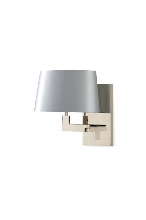 Library Wall Light | Nickel