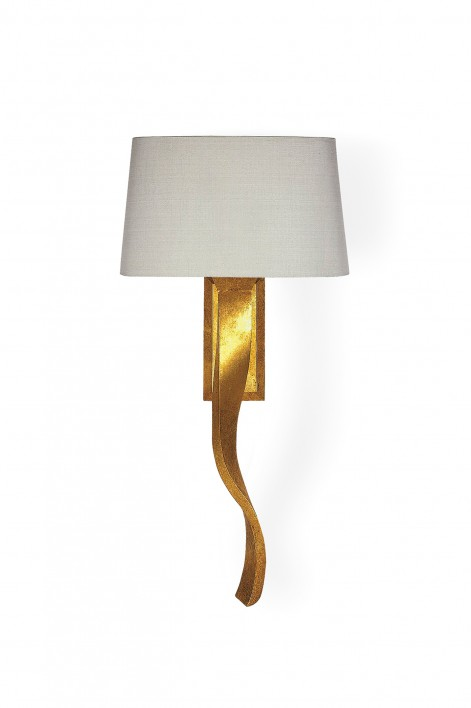 Ribbon Wall Light | Burnished Gold