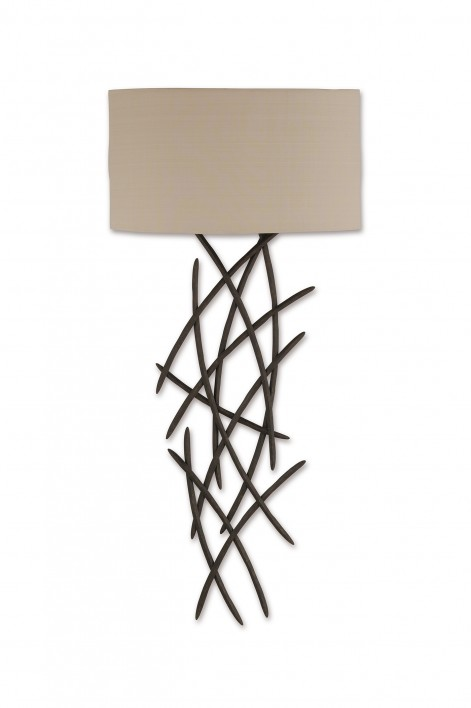Large Flynn Wall Light | Bronzed