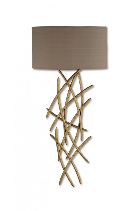 Large Flynn Wall Light | Gold