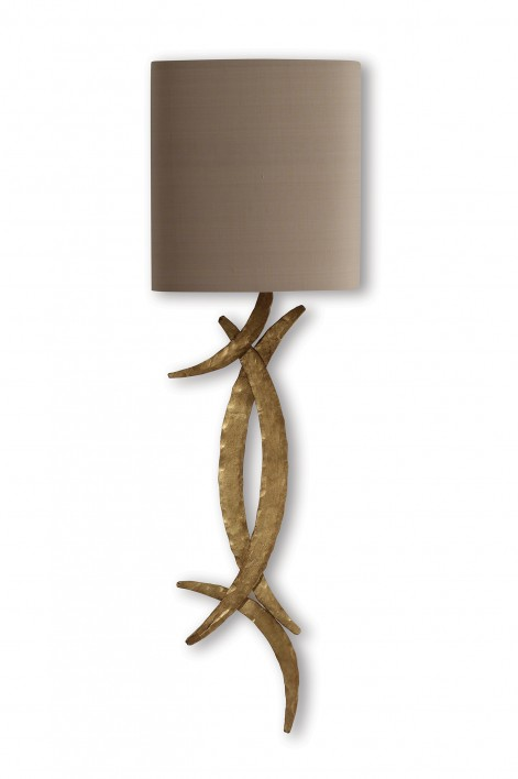 Miro Wall Light | French Brass