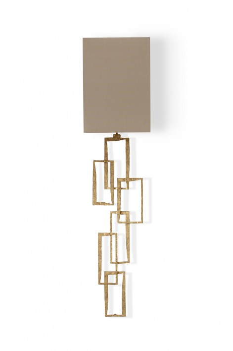 Large Salperton Wall Light | Decayed Gold