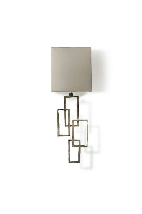 Small Salperton Wall Light | Decayed Silver