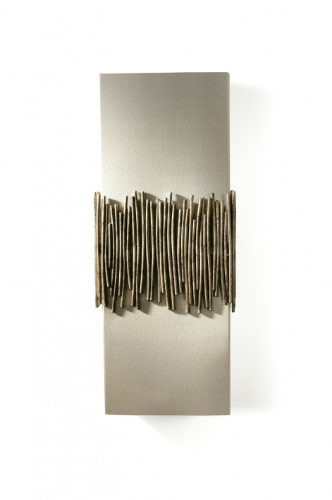 Matchstick Wall Light | Burnt Silver