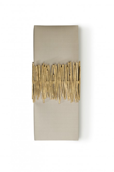 Matchstick Wall Light | White Gold