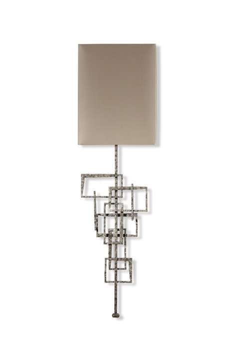 Kinetic Wall Light | Gurney Silver