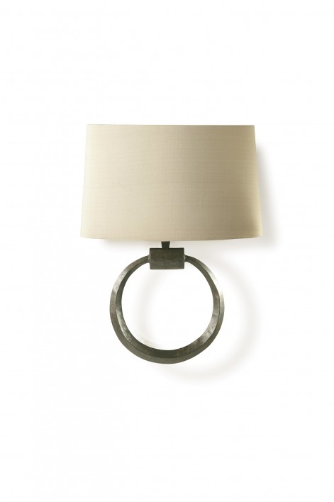 Ring Bathroom Wall Light | Bronzed