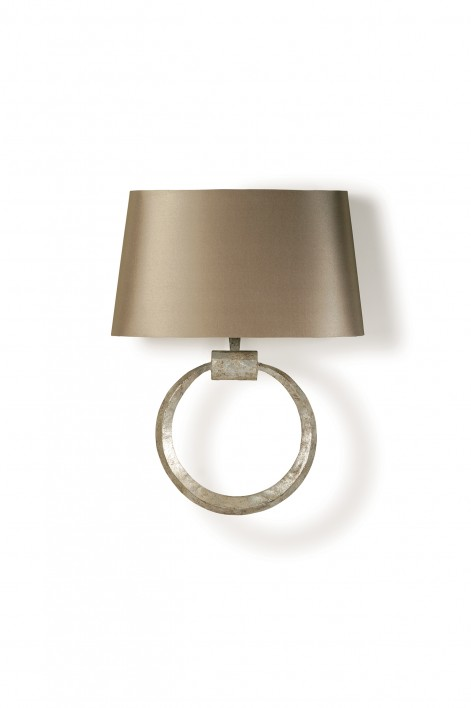 Ring Wall Light | Decayed Silver